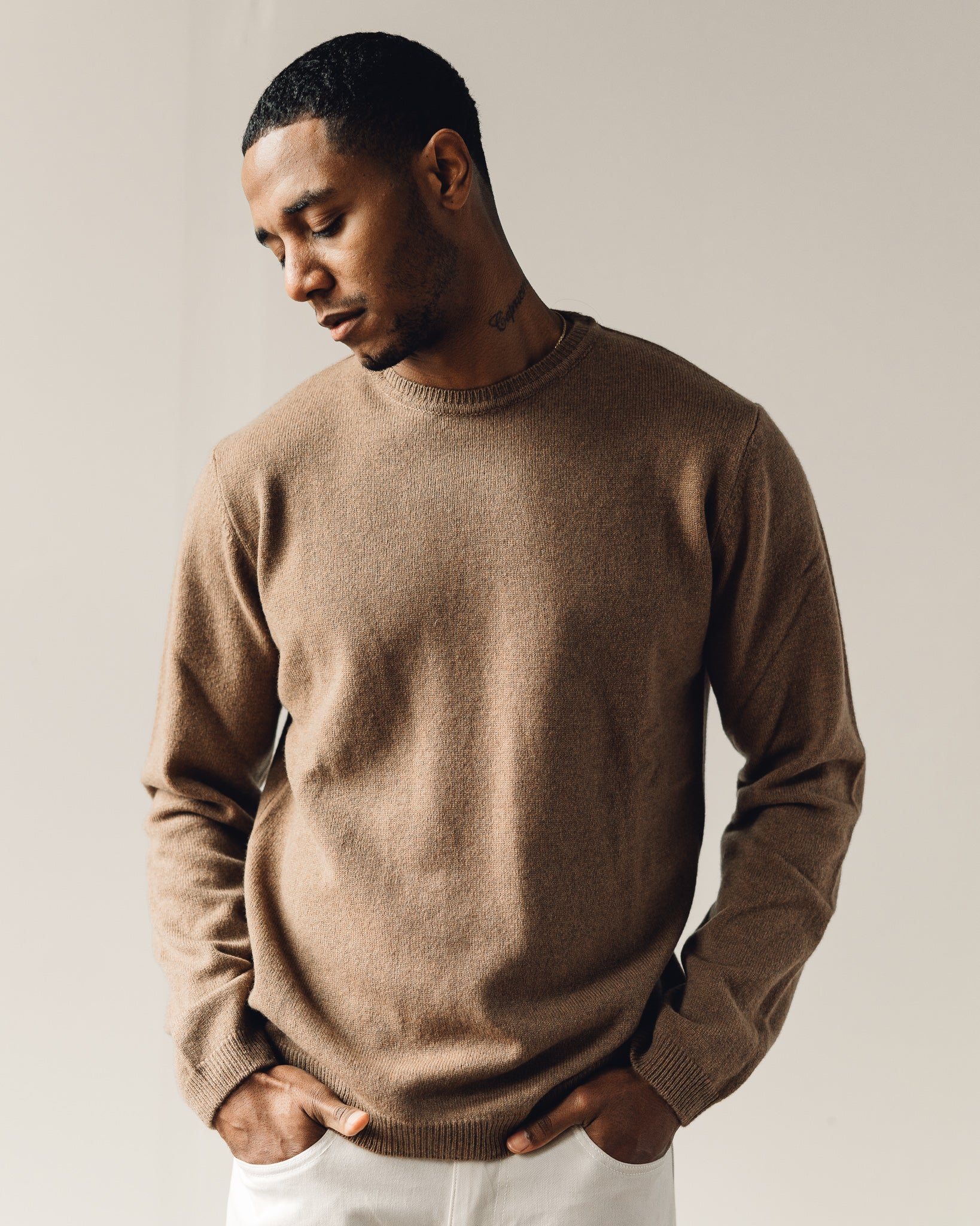 Norse Projects Sigfred Lambswool, Camel