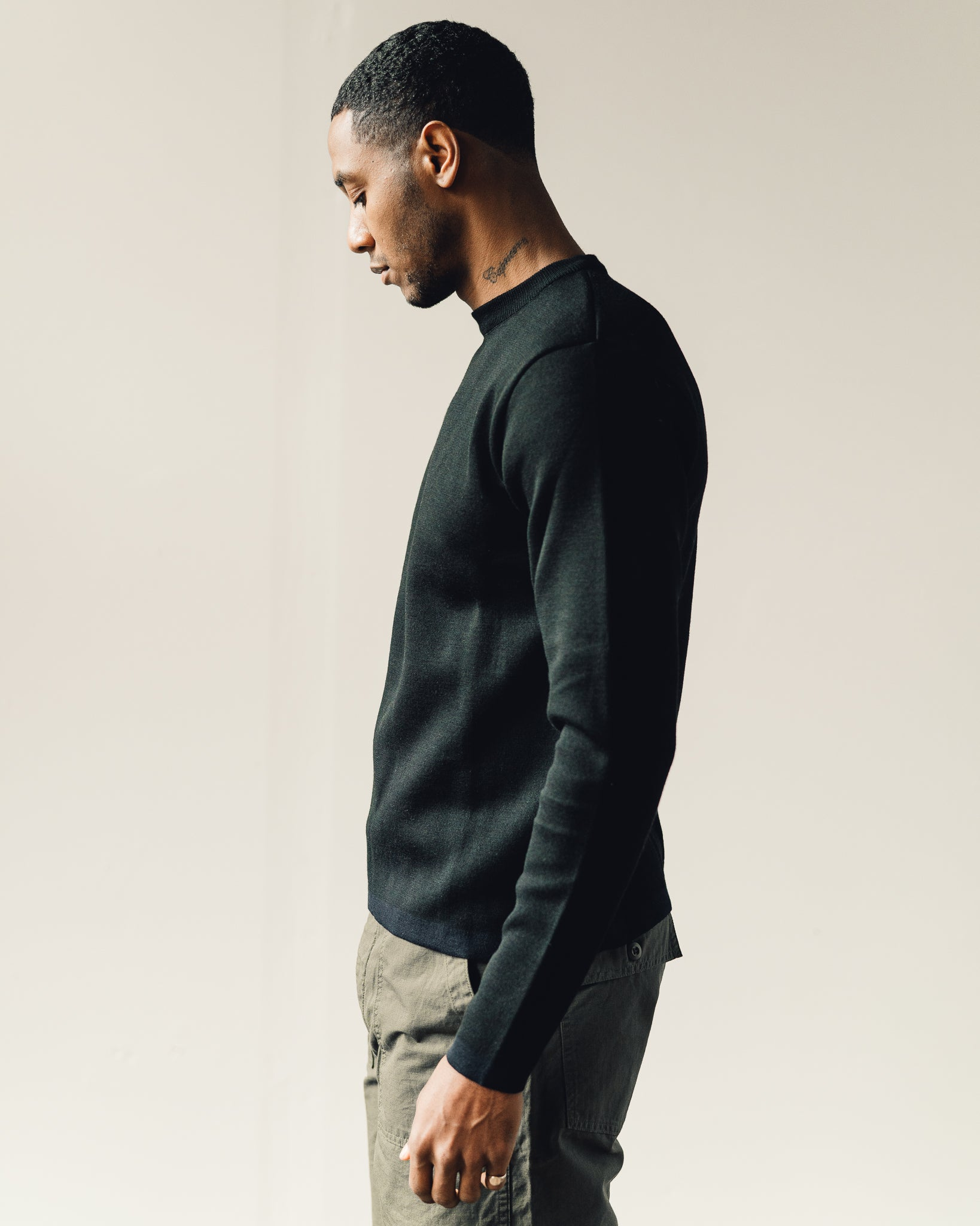 Norse Projects Verner Double Faced, Black