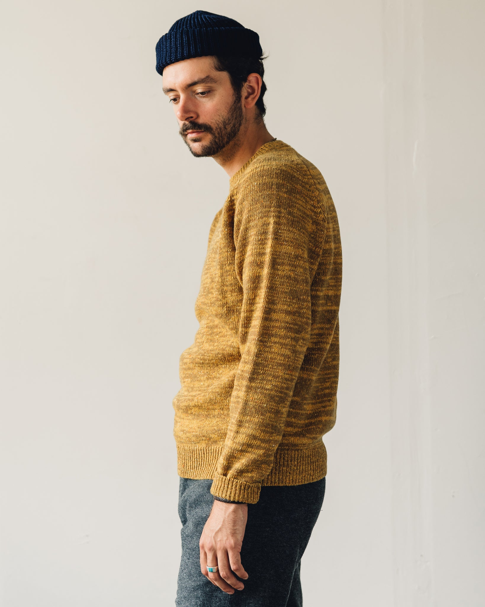 Norse Projects Viggo Crewneck Sweater, Montpellier Yellow