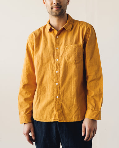 Older Brother Classic Shirt, Saffron