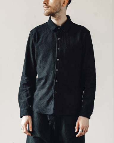 Older Brother Classic Washi Shirt, Dark Indigo