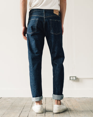 orSlow 105 Standard Denim, One Wash