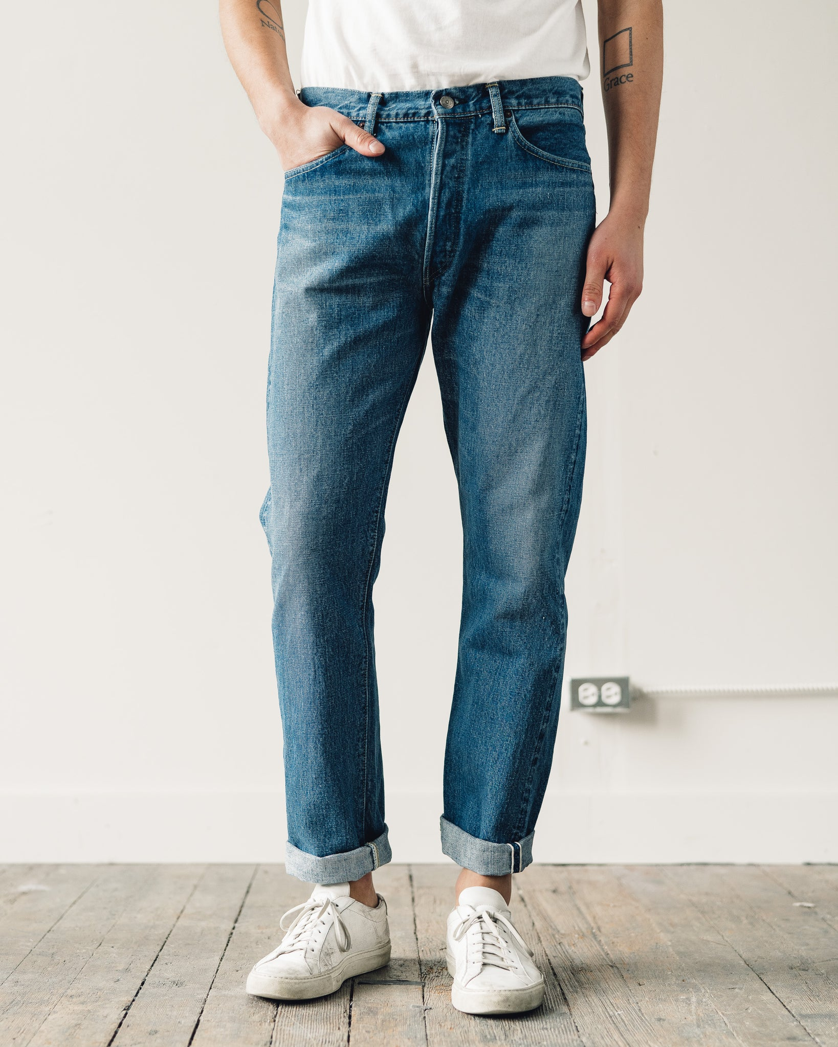 Orslow 105 Standard Denim, 2 Year Wash