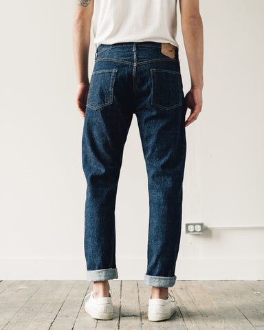 OrSlow 107 Slim Fit Denim, One Wash