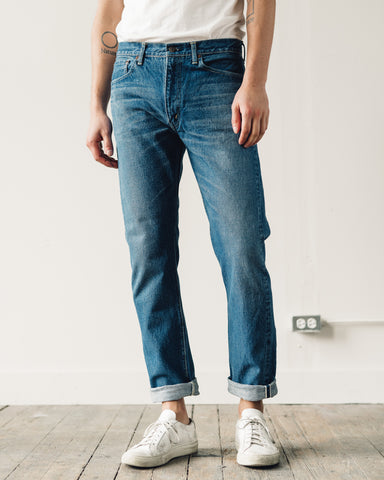 OrSlow 107 Slim Fit Denim, 2 Year Wash