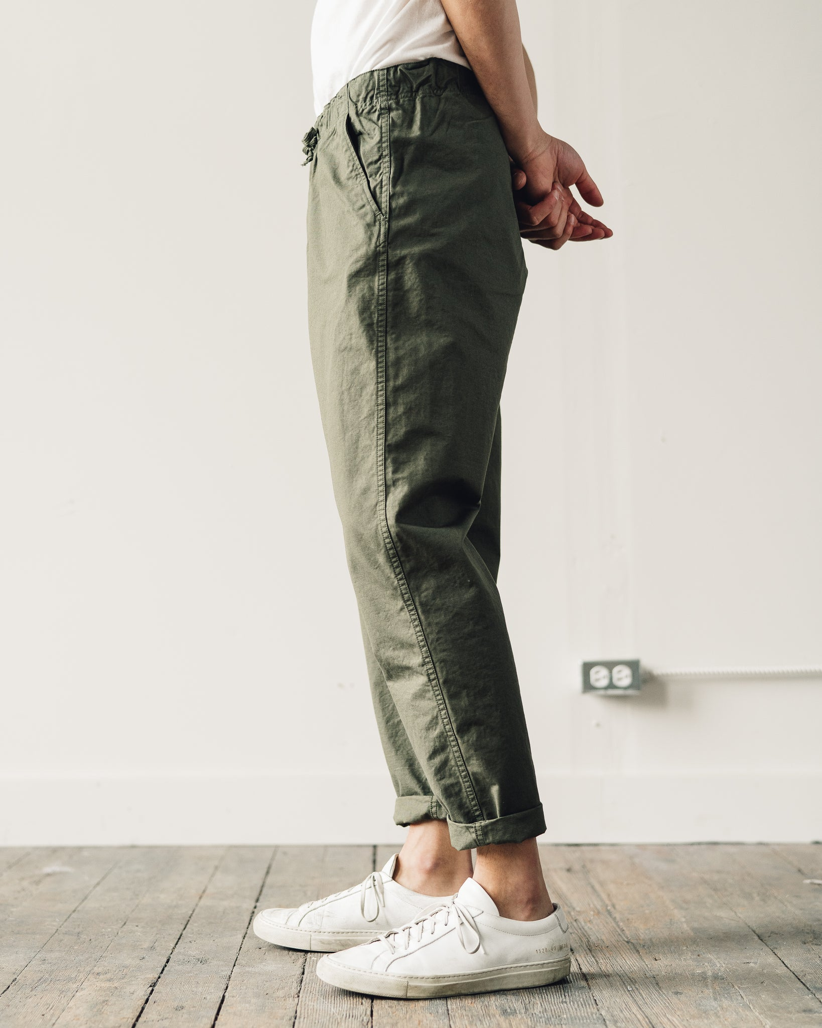 OrSlow Ripstop New Yorker Pant, Army