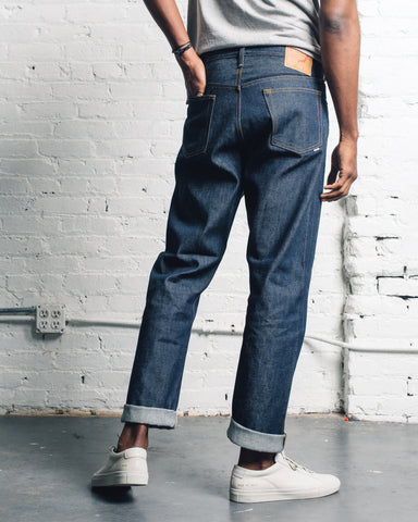 Orslow 105 Standard Denim, Rigid