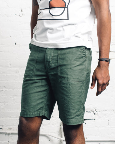 Orslow Fatigue Shorts, Green