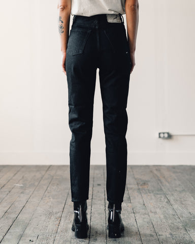 Orslow 307 Super Slim Denim, Black