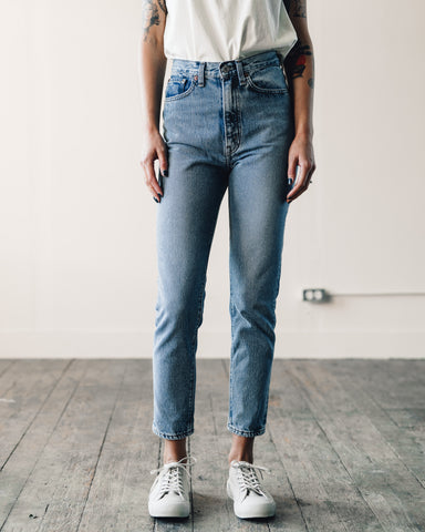 Orslow 307 Super Slim Denim, 2 Year Wash