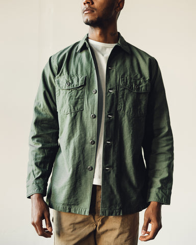 OrSlow Army Shirt, Olive