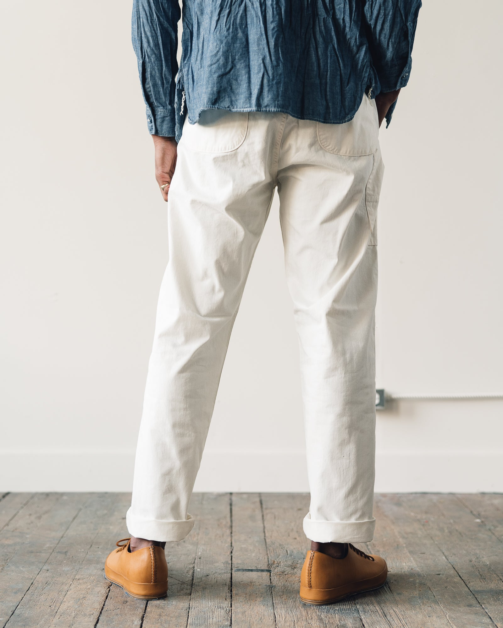OrSlow French Work Pant, Ecru