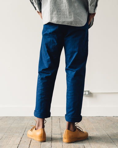 OrSlow French Work Pant, Blue