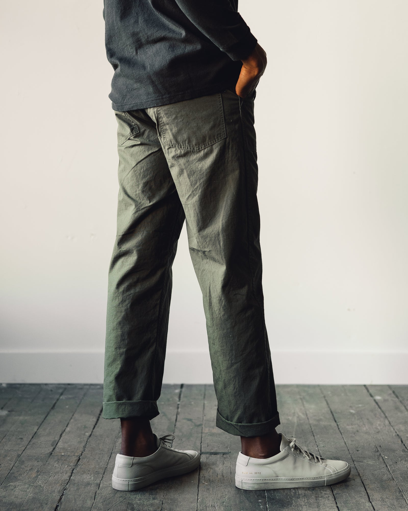 OrSlow Ripstop Fatigue Pant, Army