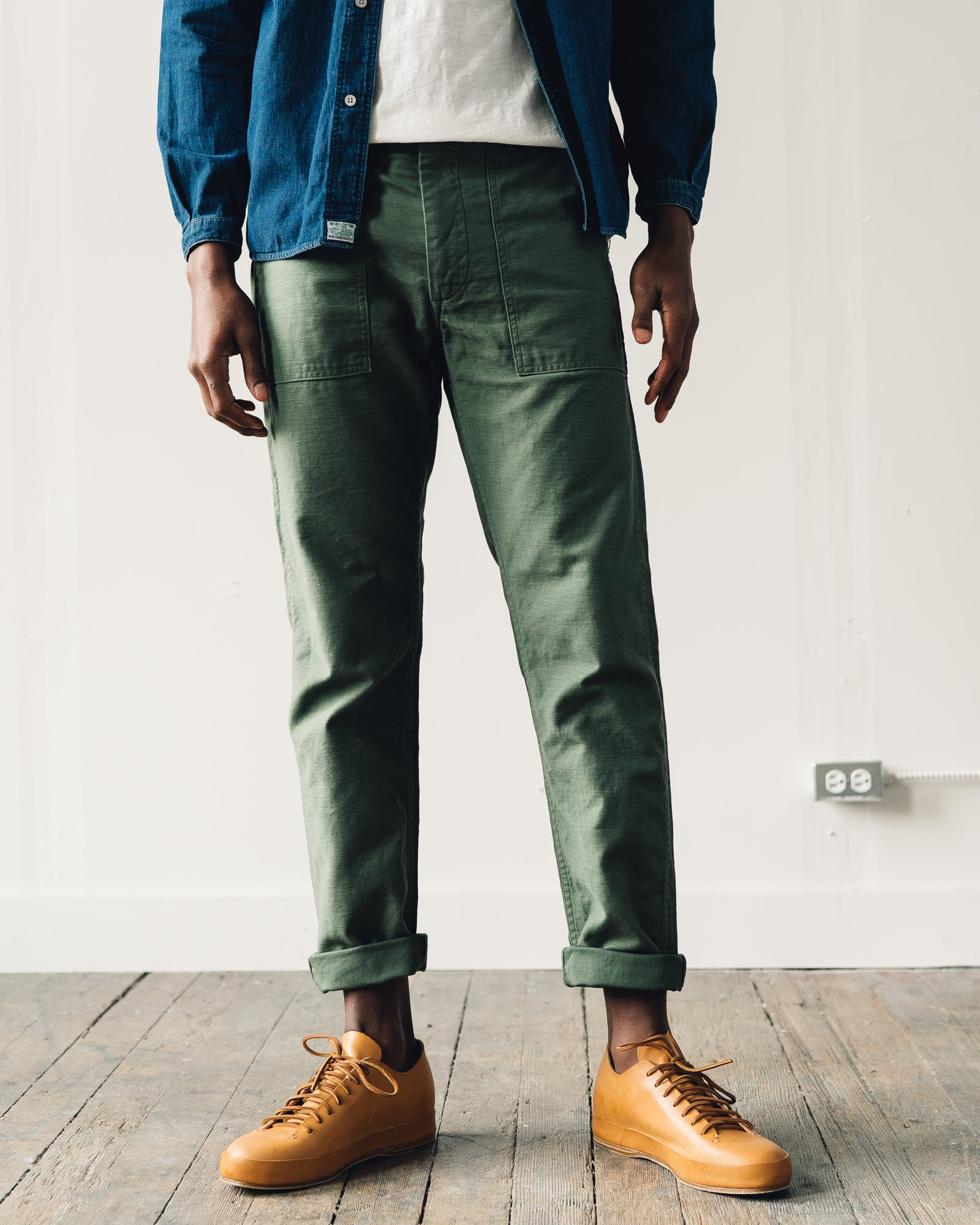 Orslow Slim Fit Fatigue Pant