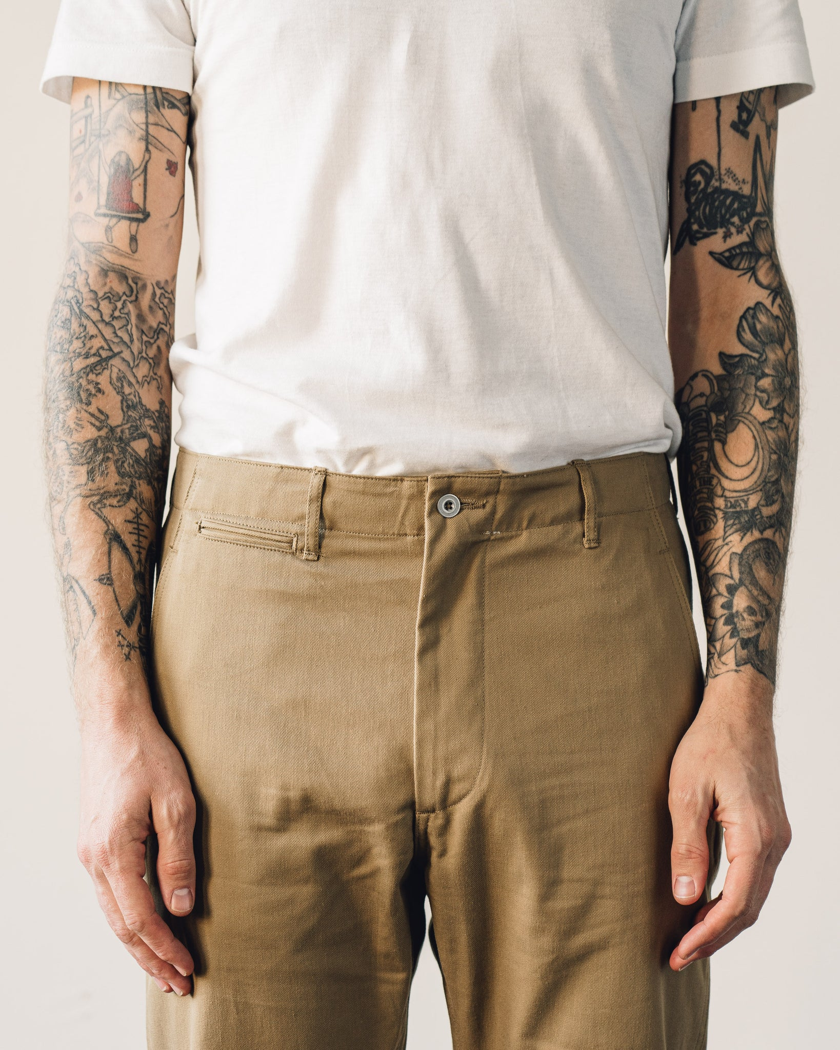 Orslow Slim Fit Army Trouser