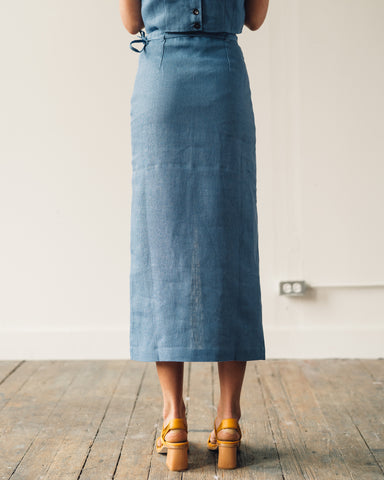 Paloma Wool Aquila Skirt, Medium Blue