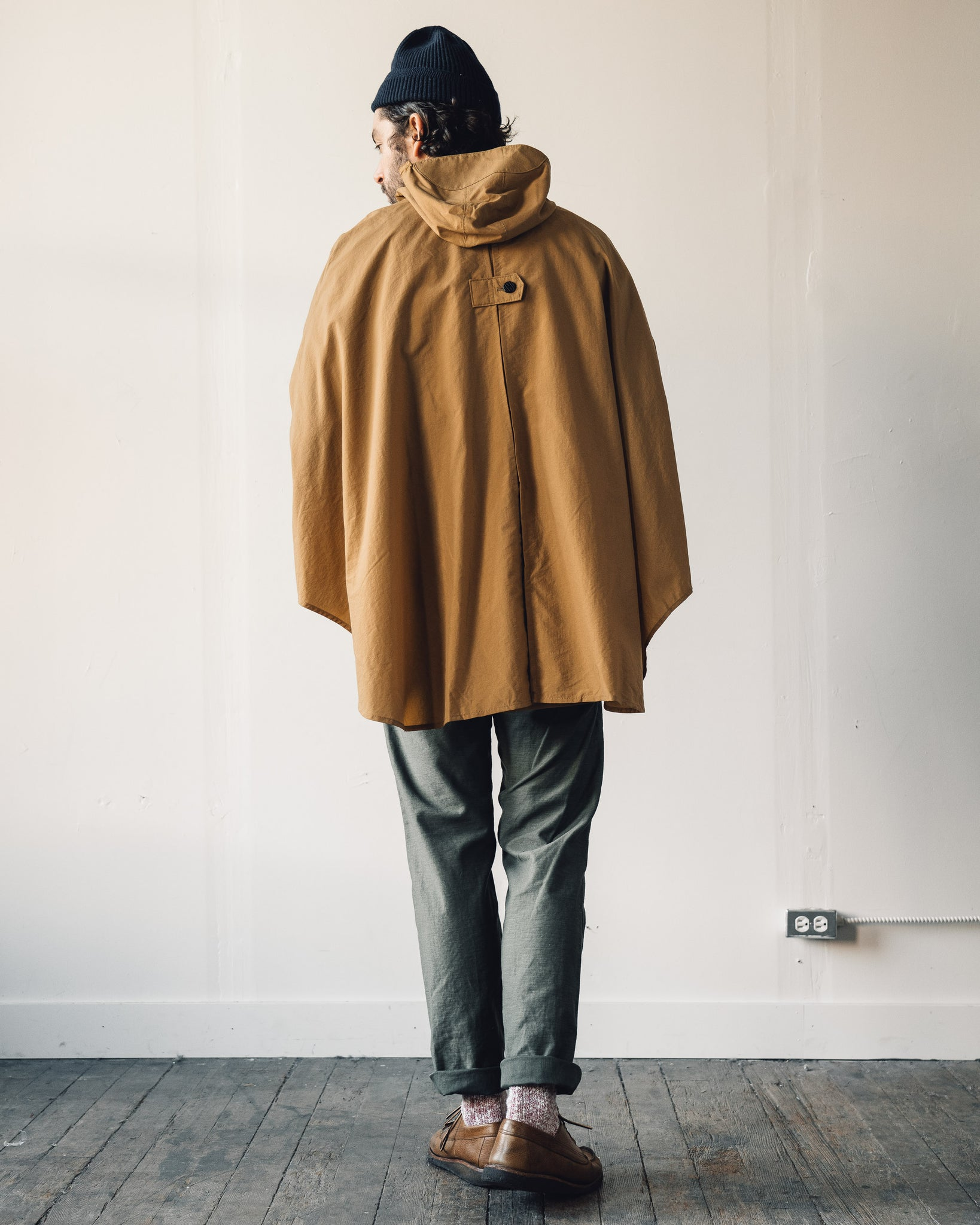 Postalco Rain Cape, Yellow Ochre
