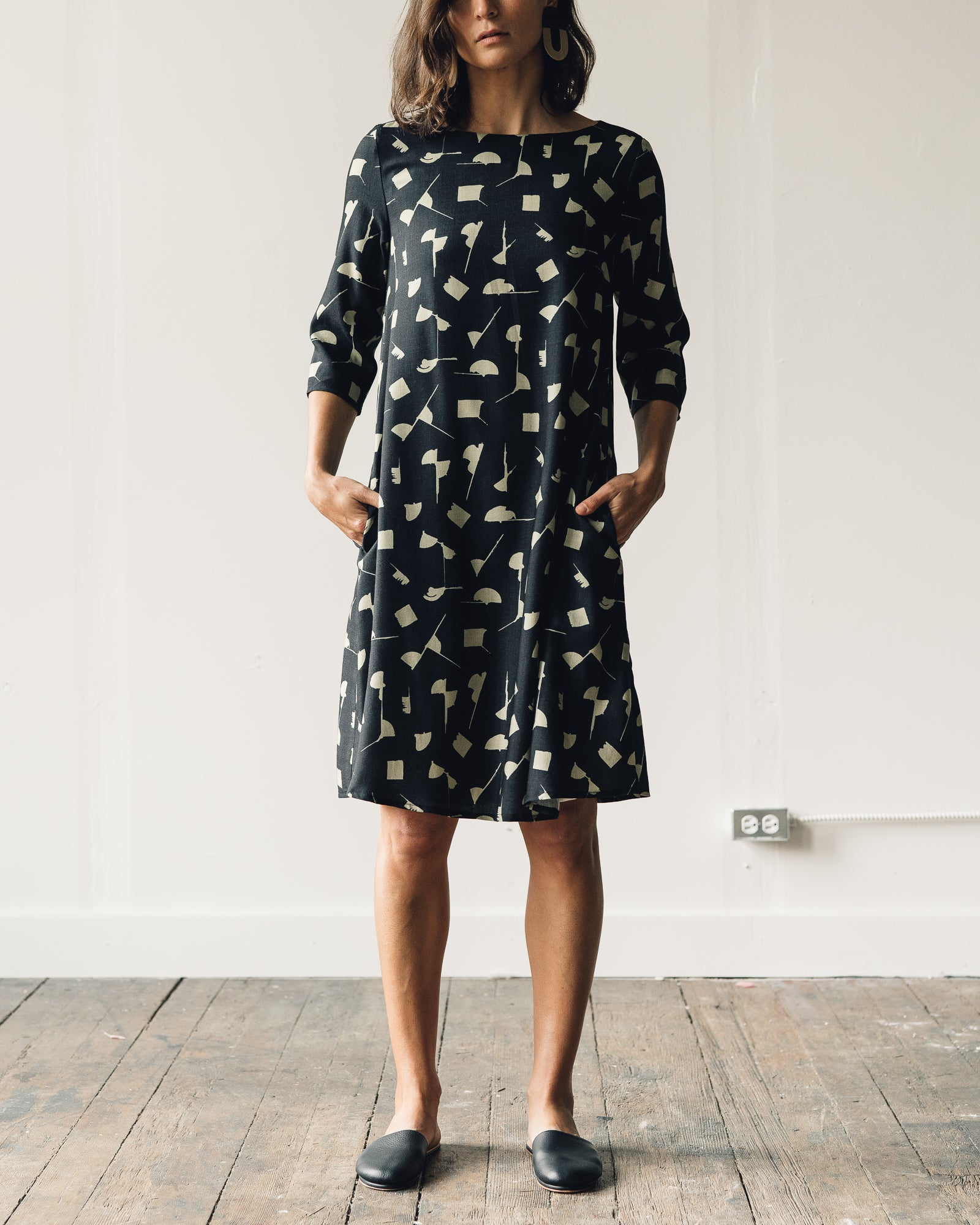 Samuji Finch Dress, Geometria