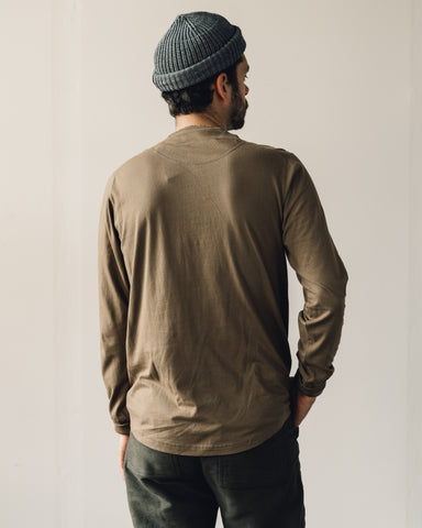 Universal Works LS Eaton Shirt, Taupe