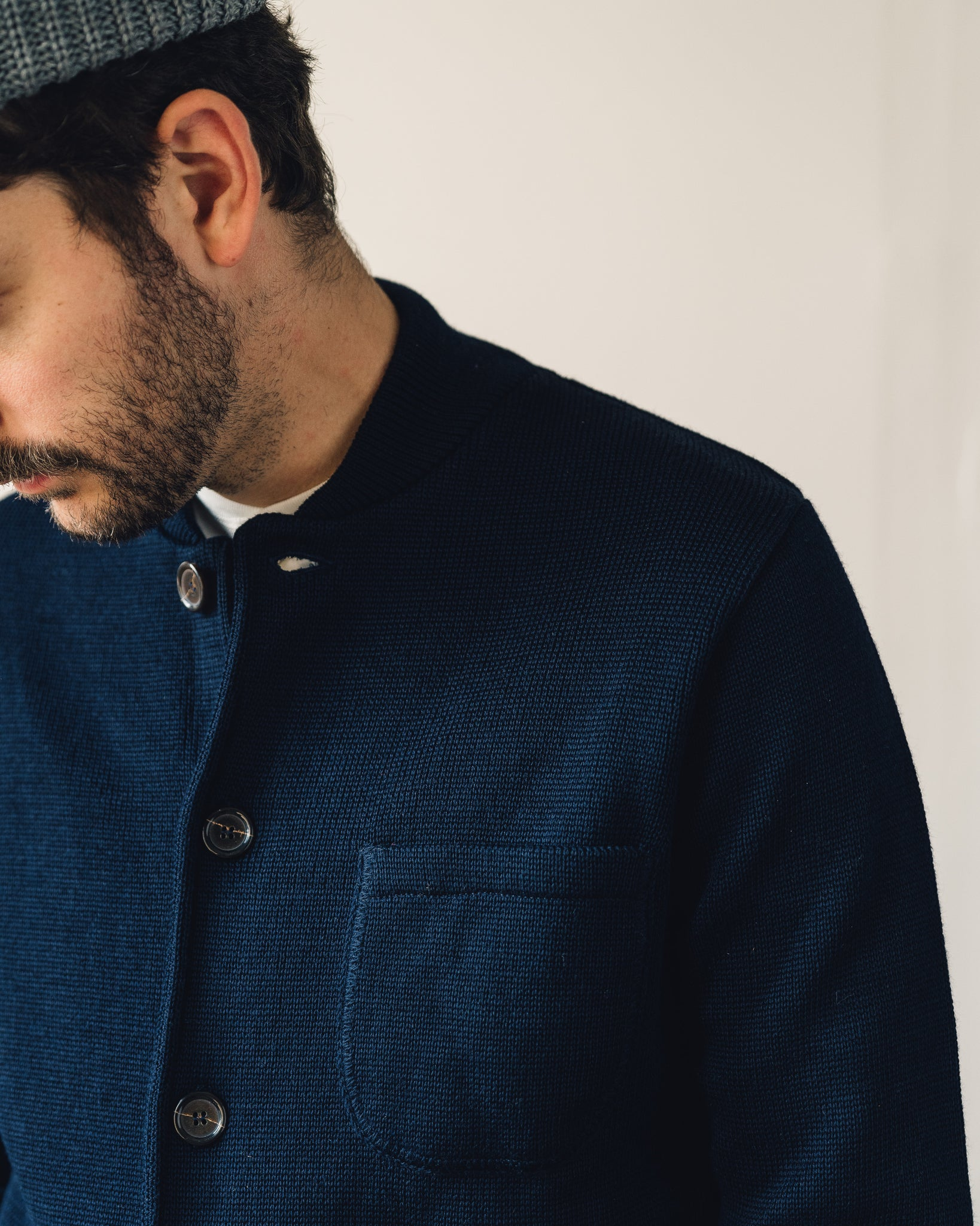 Universal Works Merino Knit Work Jacket