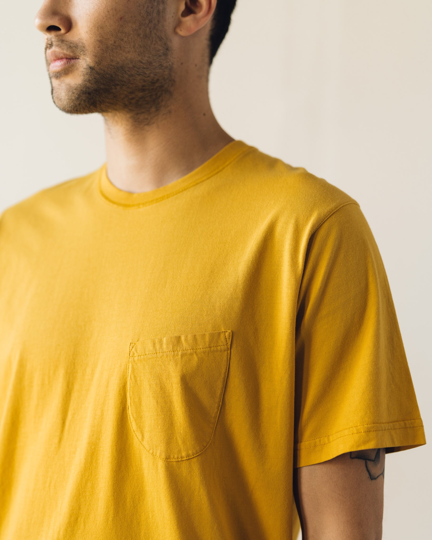 Universal Works Pocket Tee, Sunshine