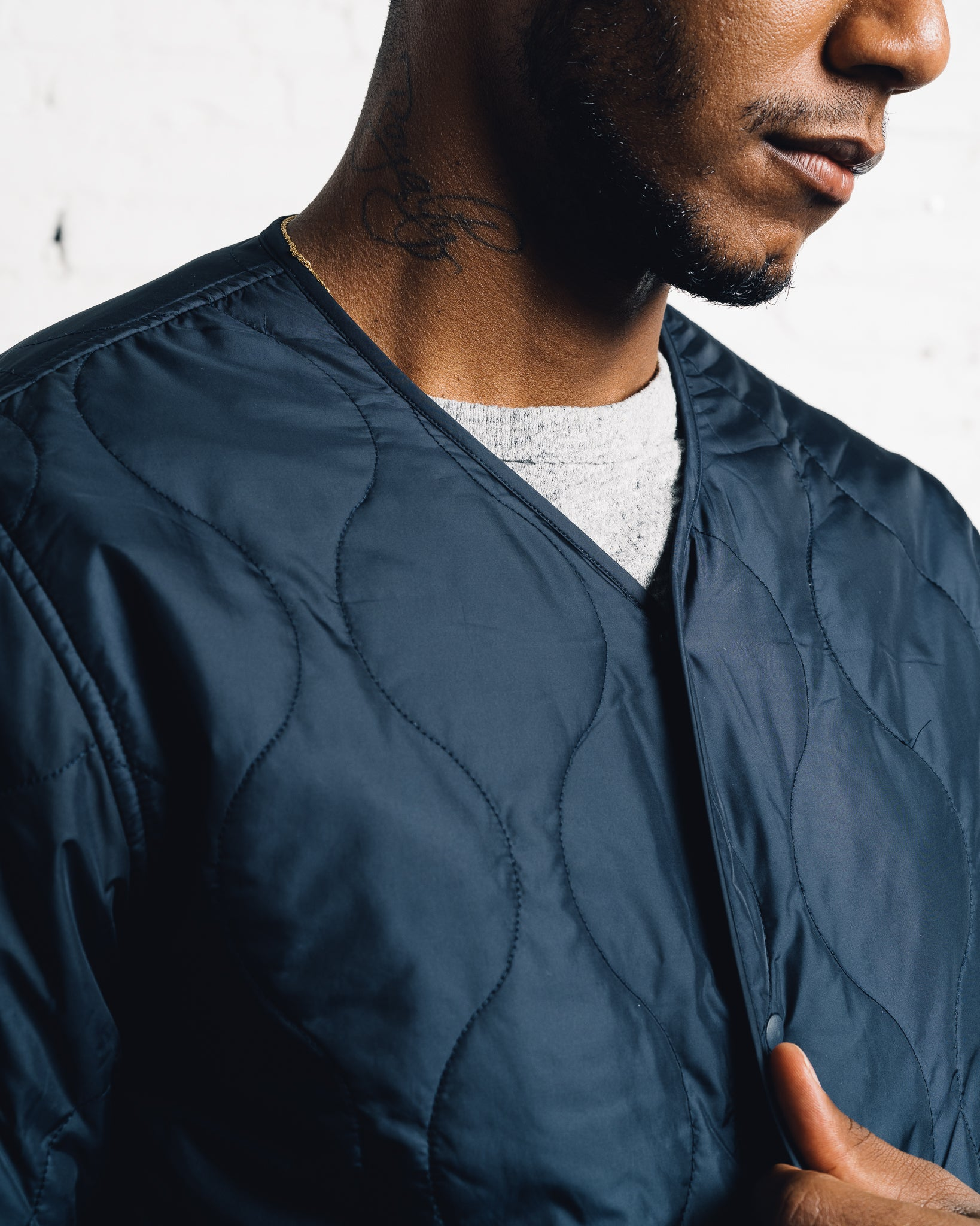 Universal Works Surfer Jacket, Navy