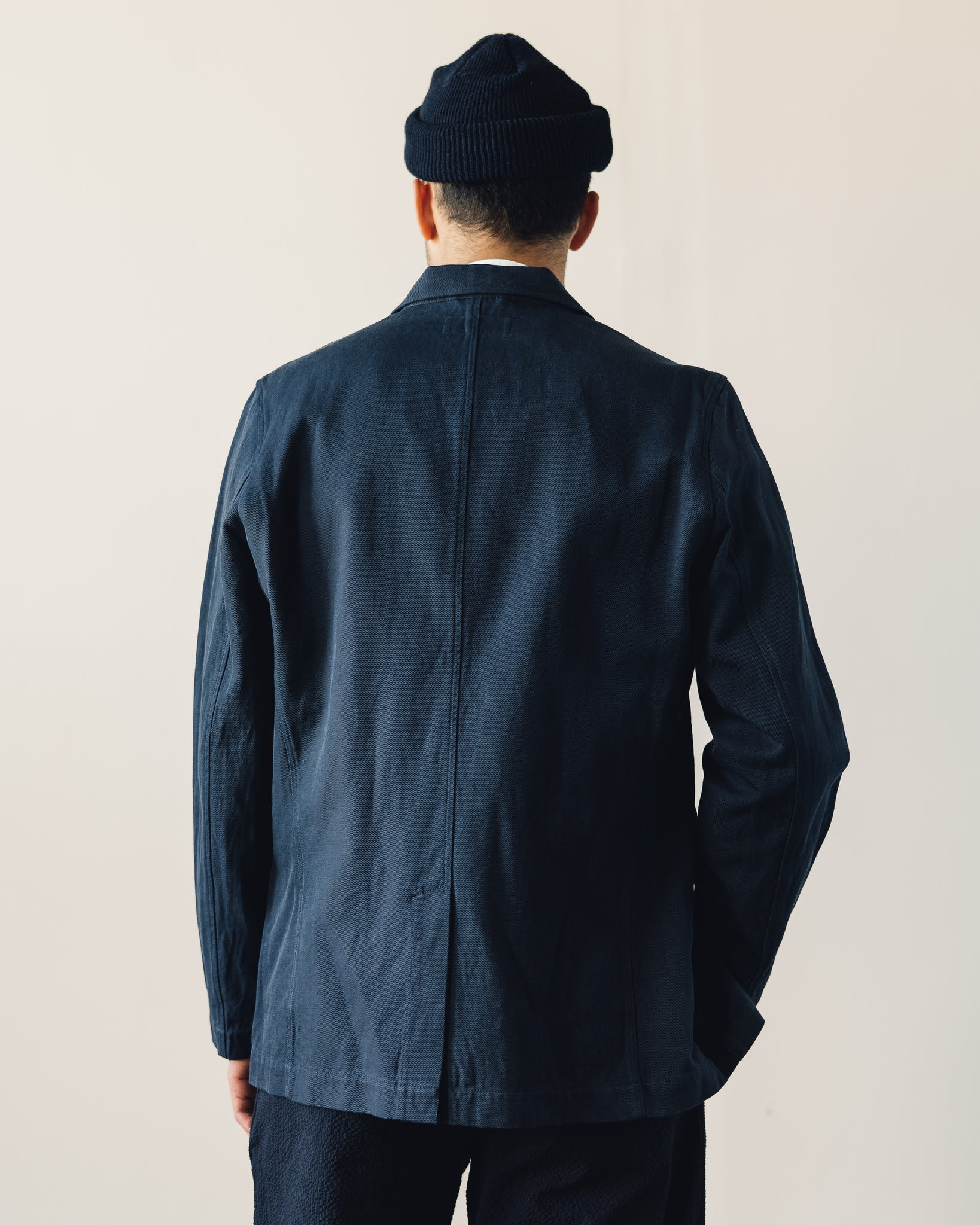 Universal Works Two Button Jacket, Navy