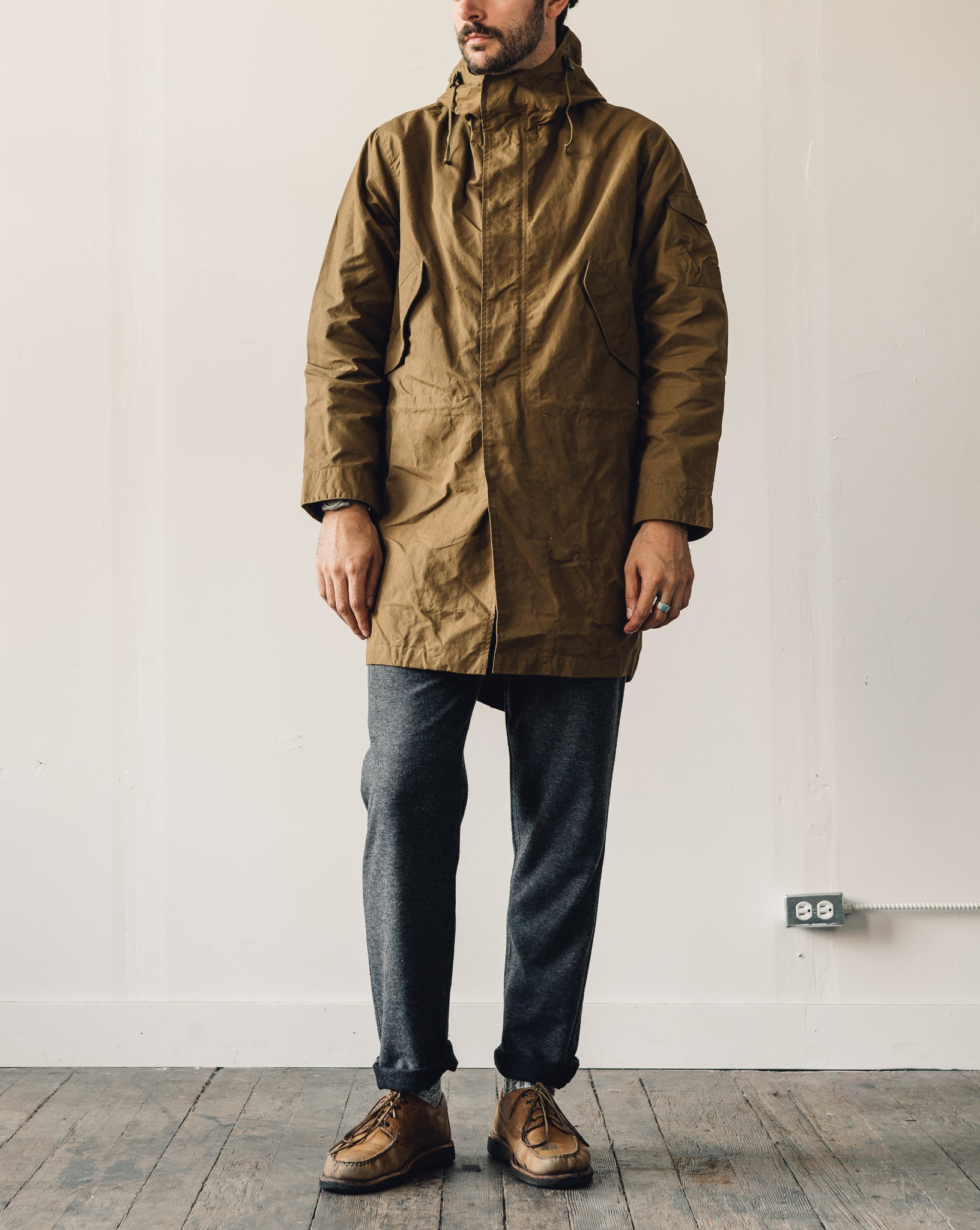Universal Works Waxed Cotton Parka