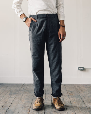 Universal Works Wool Aston Pant, Grey
