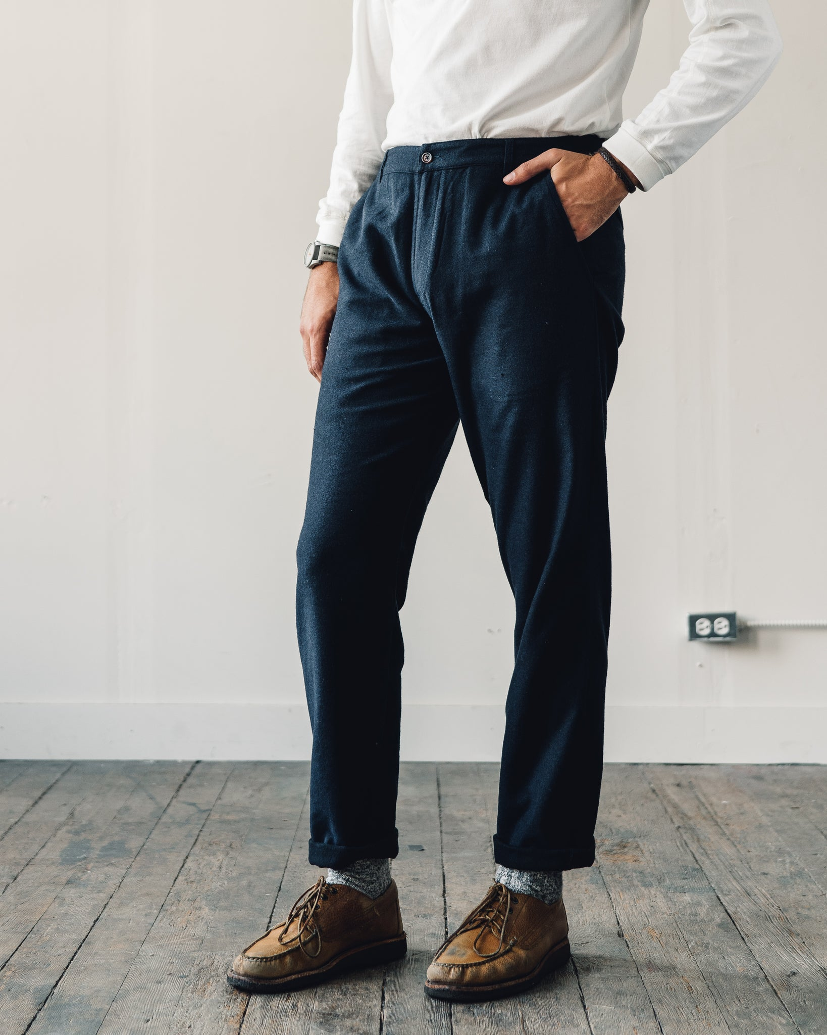 Universal Works Wool Aston Pant