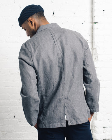 Universal Works Two Button Jacket, Grey