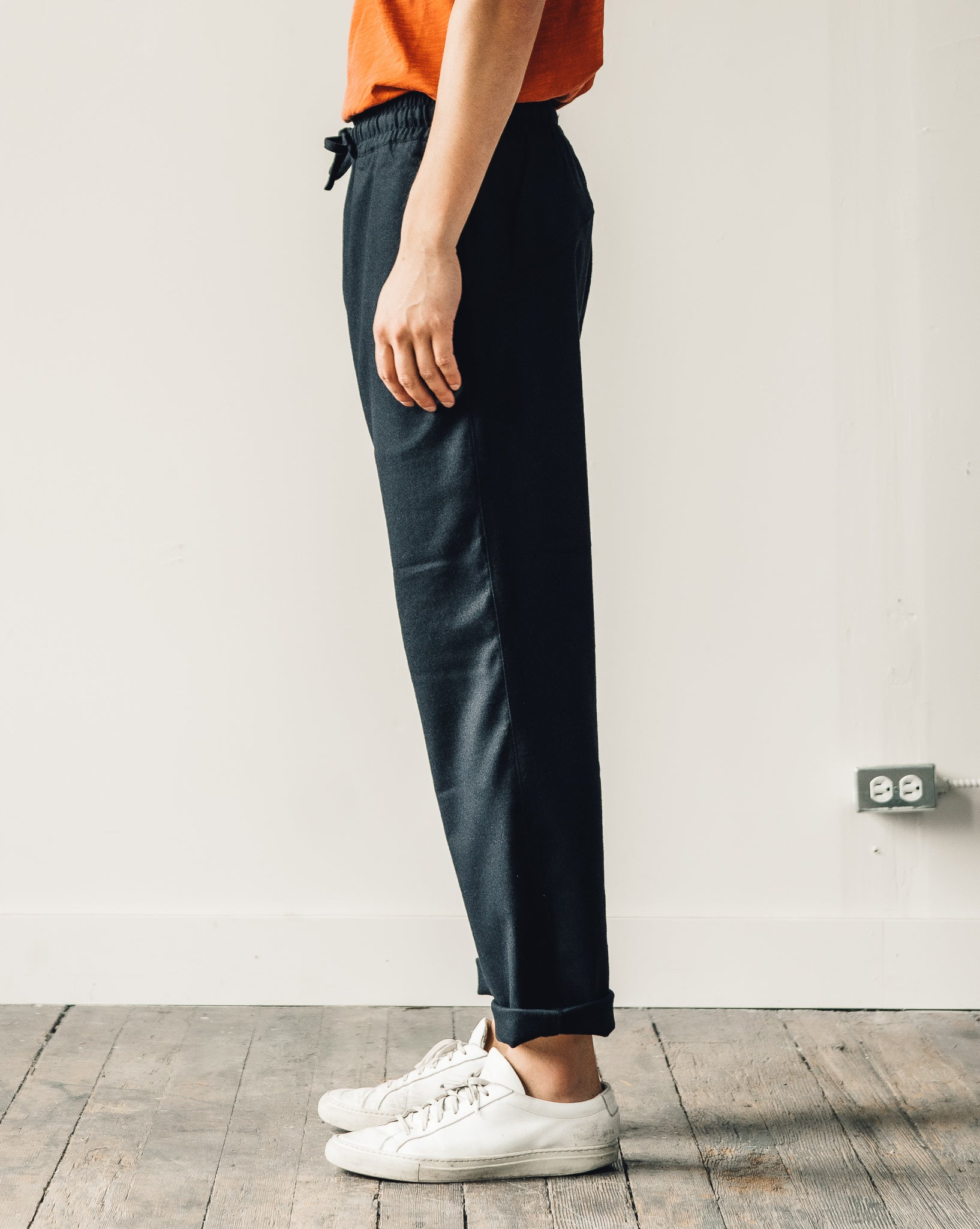 You Must Create Alva Skate Pant, Navy Wool