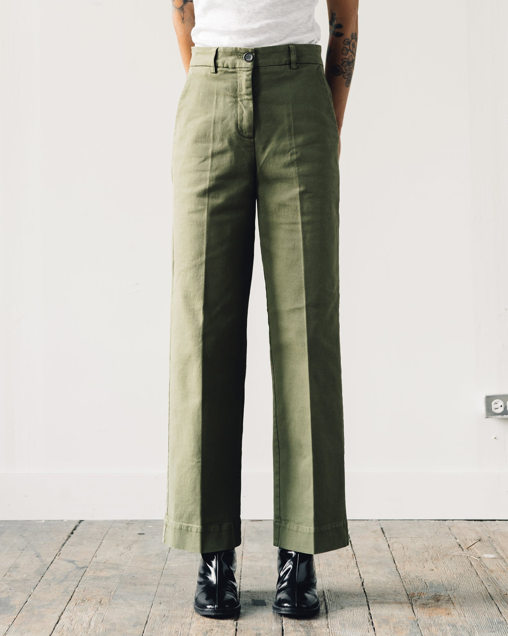 You Must Create Carla Trouser, Olive
