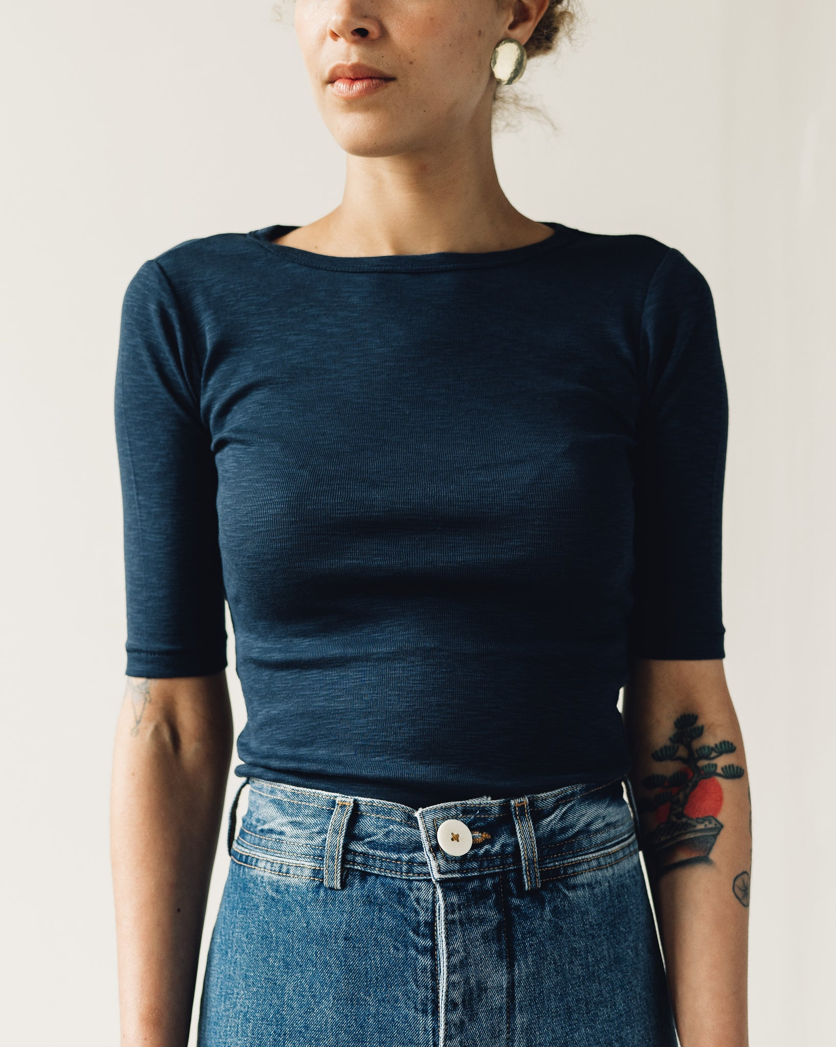 You Must Create Charlotte Tee, Navy