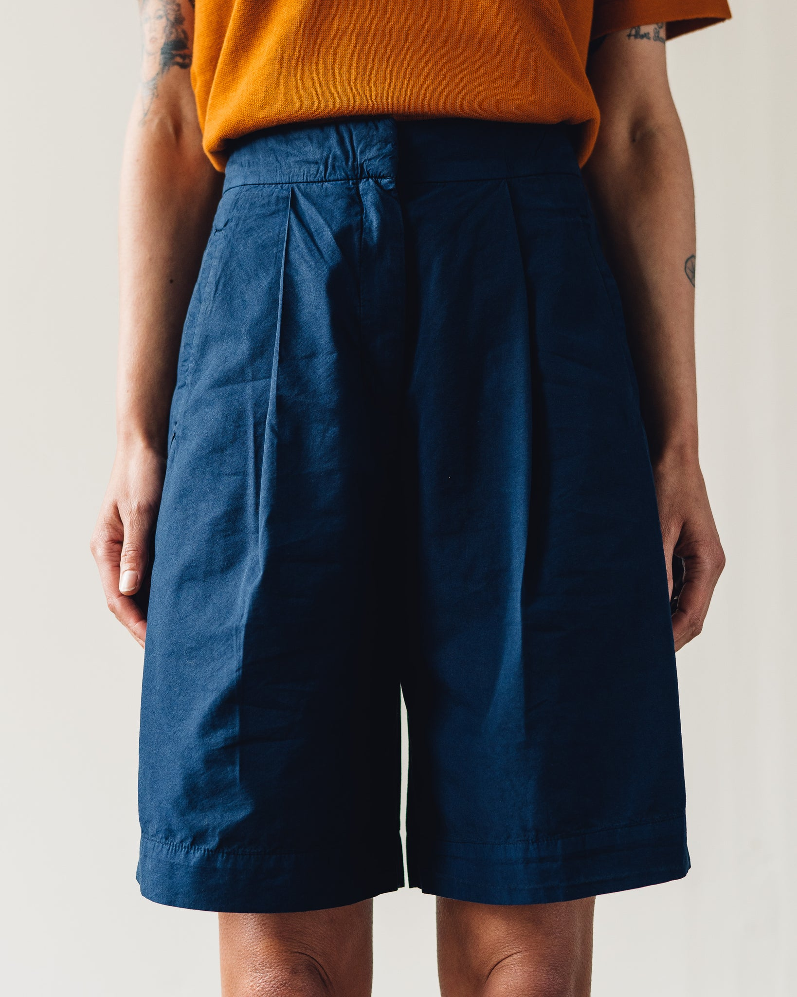 You Must Create City Shorts, Navy