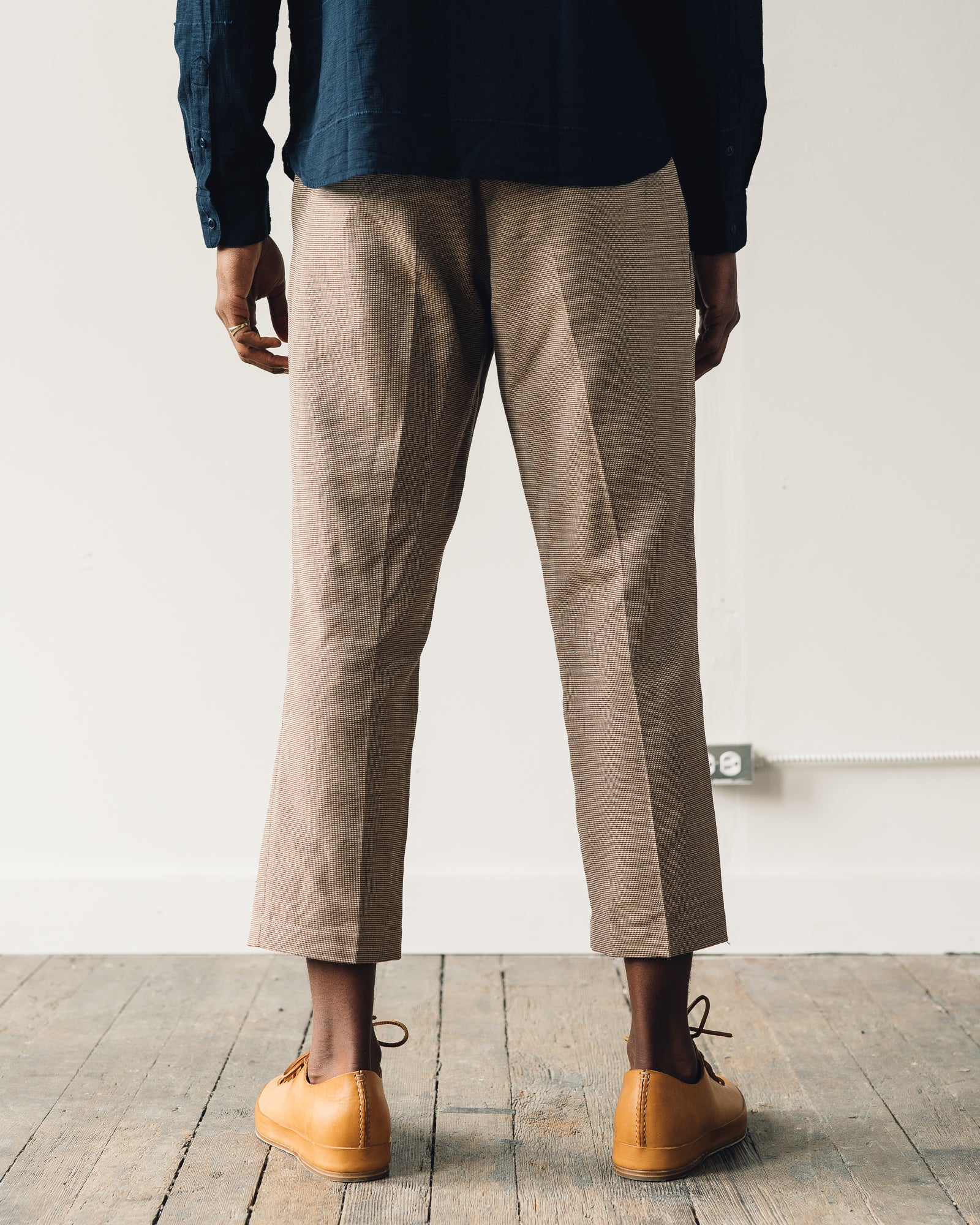 You Must Create Hand Me Down Trouser, Brown