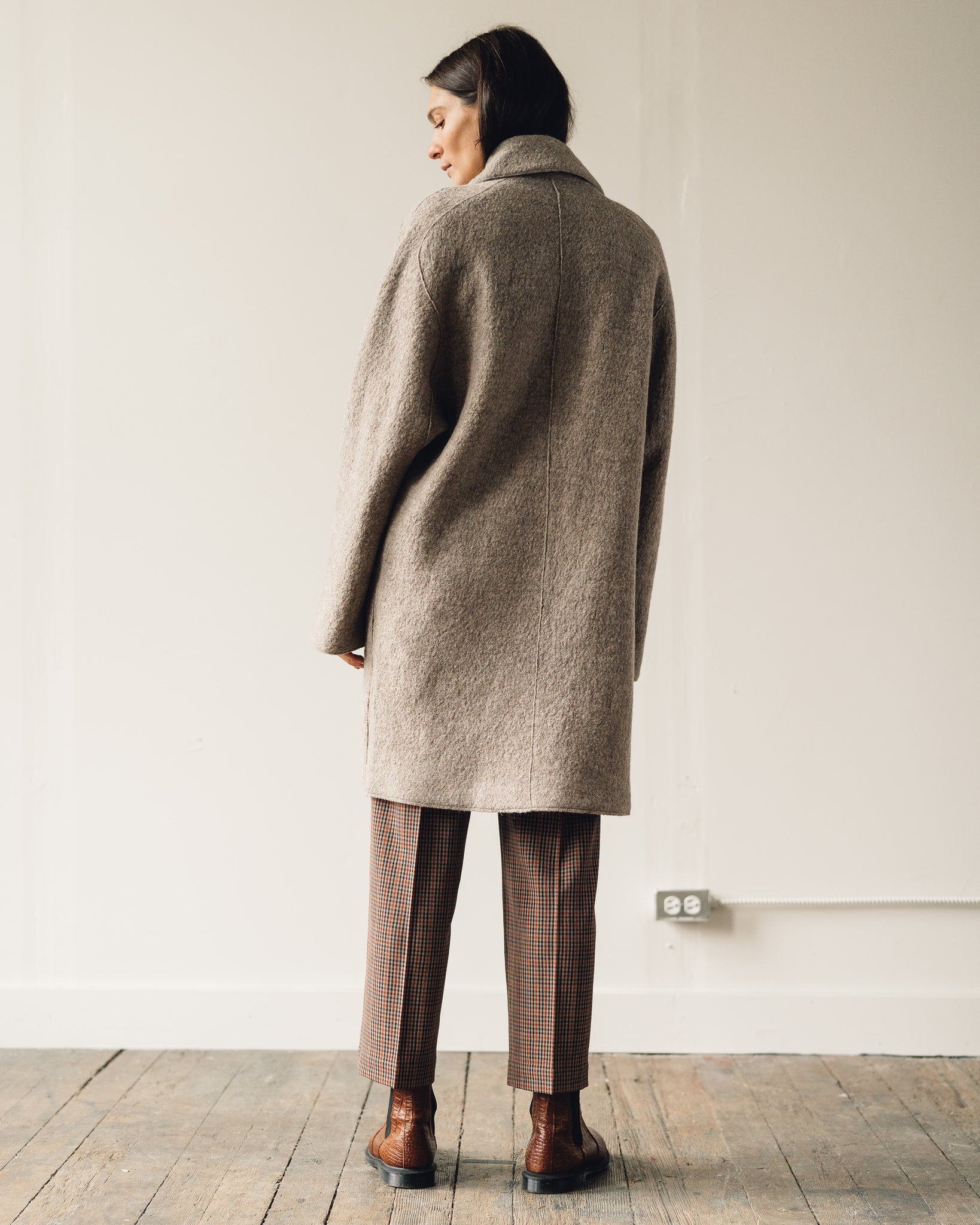You Must Create Heroes Coat, Beige