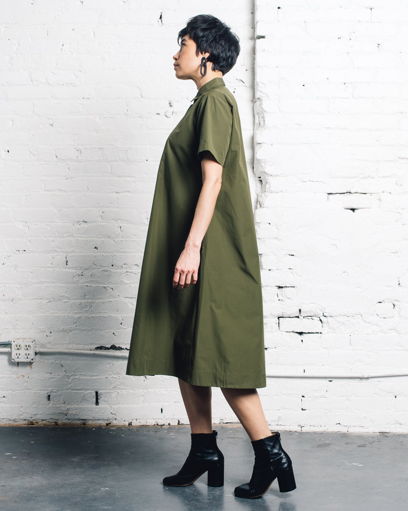 You Must Create Joan Dress, Olive
