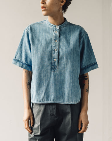 You Must Create Manon Shirt, Indigo Bleach