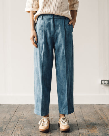You Must Create Market Trouser, Indigo Bleach