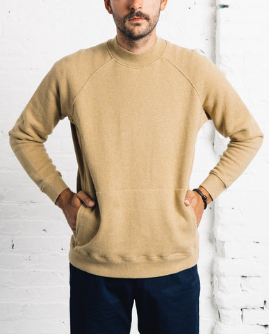 You Must Create Touche Pocket Sweatshirt, Sand
