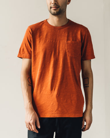 You Must Create Wild Ones Pocket Tee, Rust