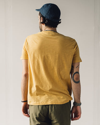 You Must Create Wild Ones Pocket Tee, Yellow