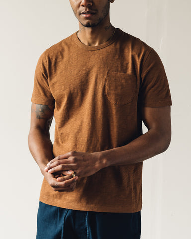 You Must Create Wild Ones Pocket Tee, Brown