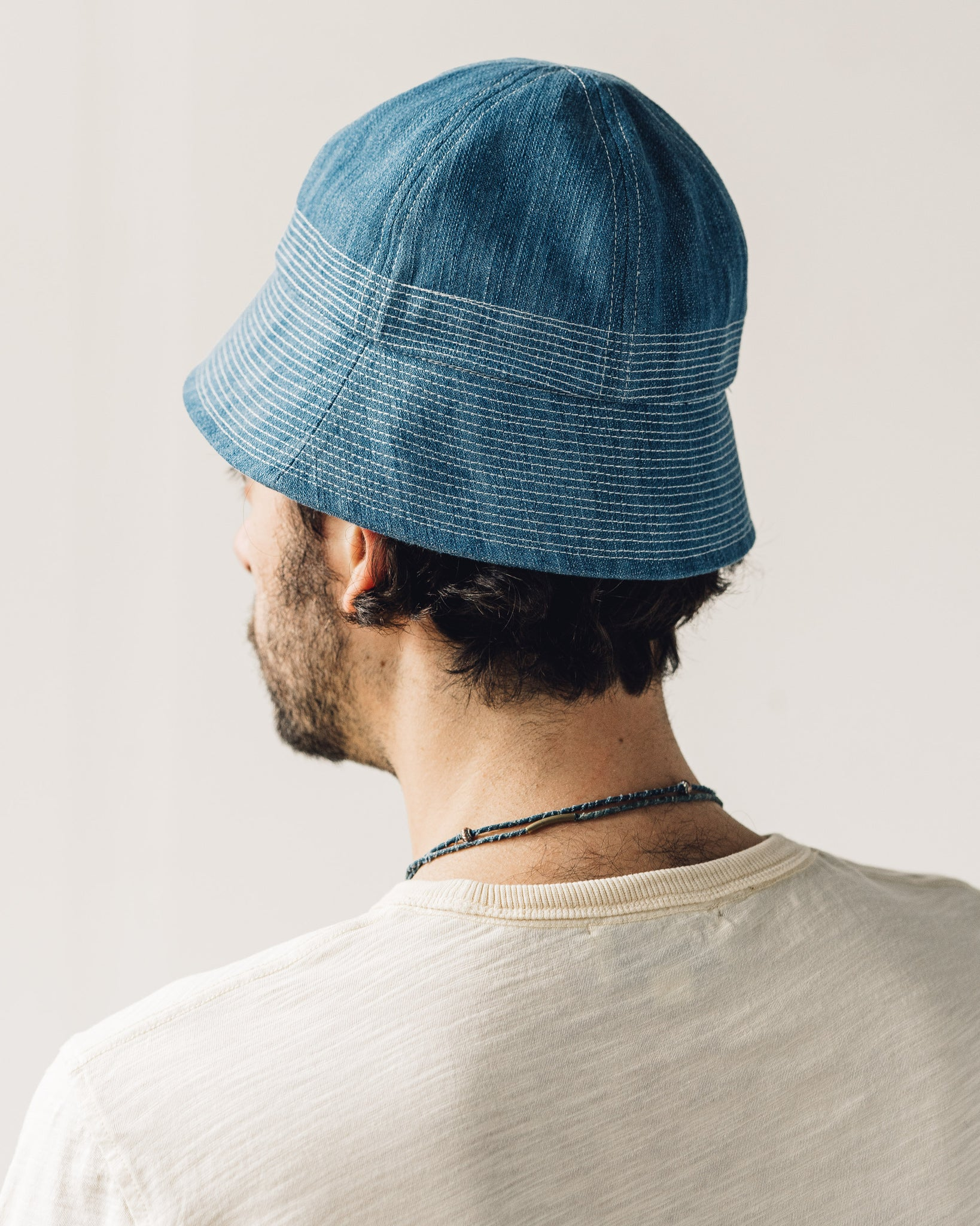 You Must Create Gilligan Hat, Indigo Bleach