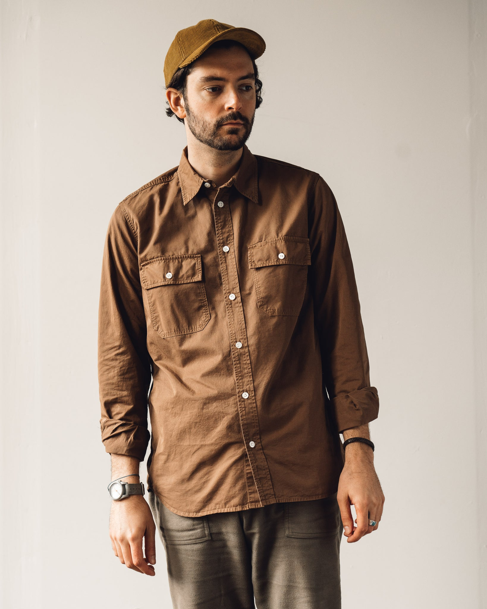 Norse Projects Villads Light Twill Shirt