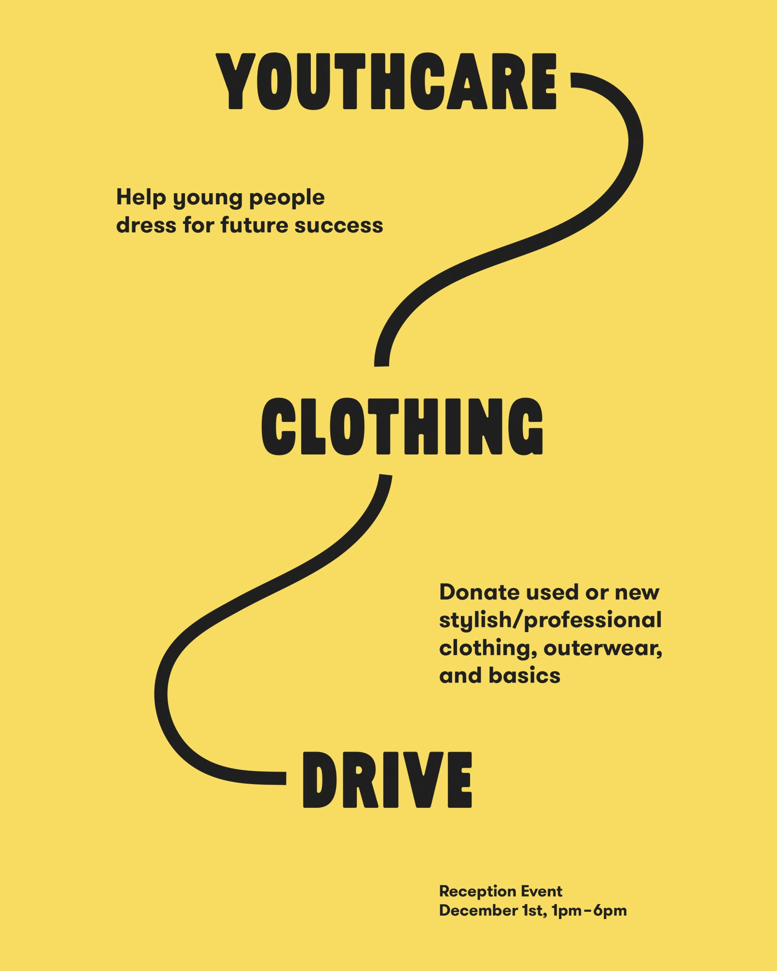 Youthcare Winter Clothing Drive Donation