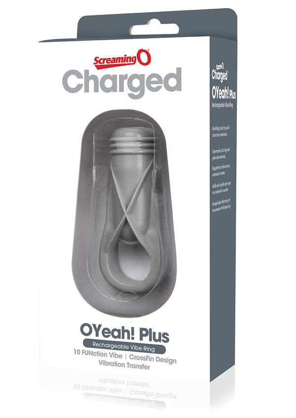Charged O Yeah! Plus Ring - Grey