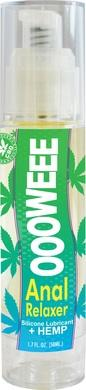 Oooweee Anal Relaxer Silicone Lubricant & Hemp -  1.7 Fl. Oz. - 50 Ml